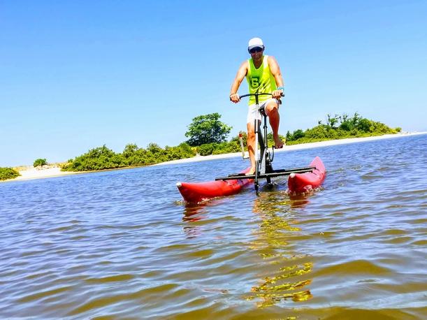 Bike sur le lac