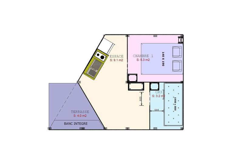 Ecolodge 2 chambres pour votre séjour dans les Landes