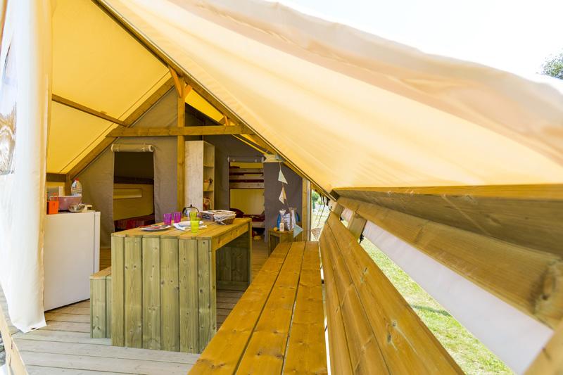 L'Ecolodge, la vraie nature du camping