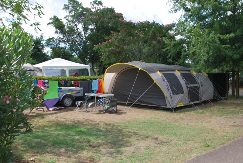 Faire du camping traditionnel dans les Landes