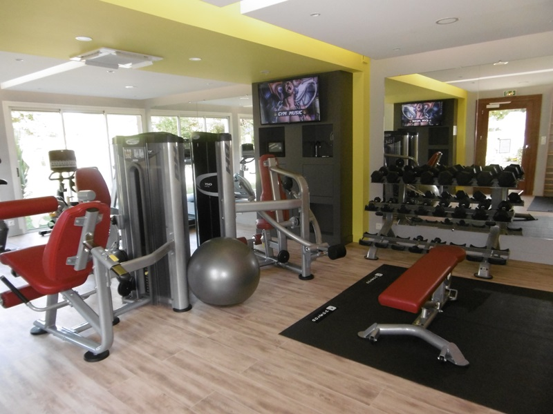 Notre nouvelle salle de fitness