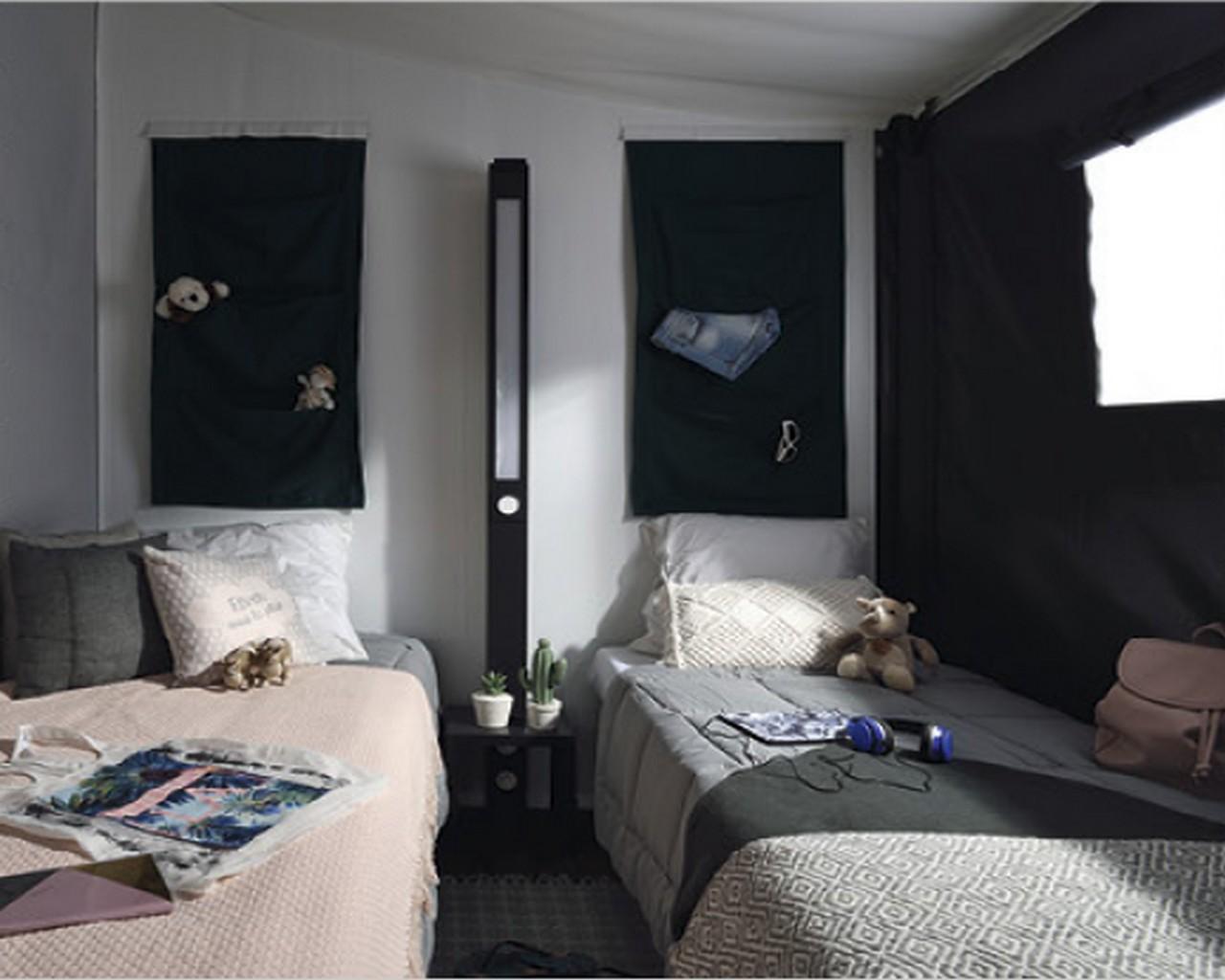 Lodge chambre 2 lits