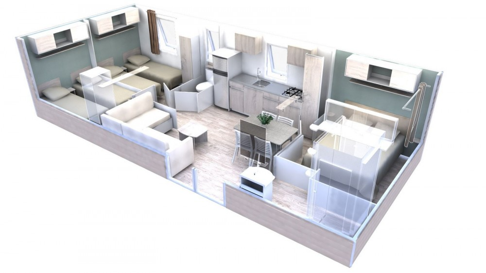 Trigano Evolution 35 Plan 3D