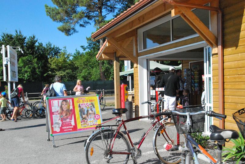 La boutique du camping à Biscarrosse