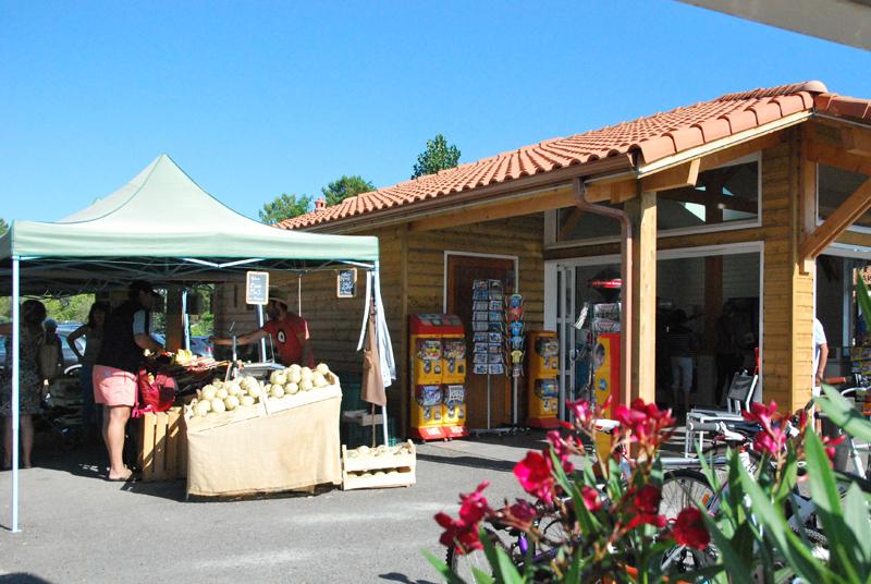 L'épicerie du camping vous propose des produits frais
