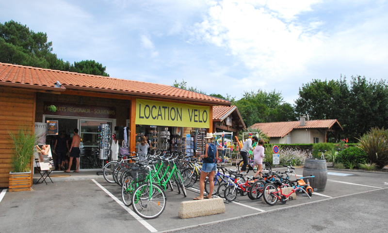 Service de location de vélos et de rosalies